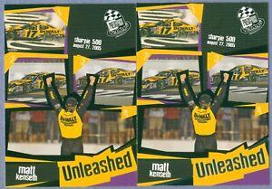 MATT KENSETH 2006 Press Pass Base & Gold Parallel # 105 & G105
