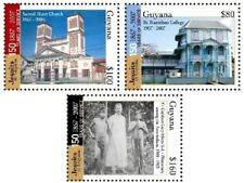 Guyana - 2009 - Jesuits 150 Years Of Service - Set Of 3 Stamps - Mnh