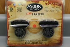 Axion Archery Hybrid Limb Damper Large Black w/ Black Aaa-3900Lb-B