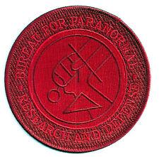 Hellboy Movie - Bureau Paranormal Research Logo - Uniform Aufnäher zum Aufbügeln