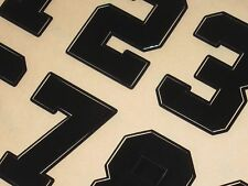 """OAKLAND """"Style"""" Football Helmet Numbers Decals 1.5"""" FULL Size 3M 20MIL - CURRENT"""