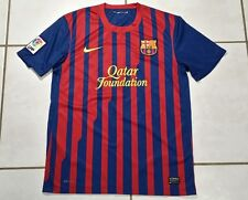 Nike Fc Barcelona 2011 Soccer Jersey Men's Medium