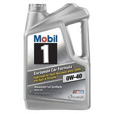 5qt Mobil 1 0W-40 Advanced Full Synthetic Motor Oil European Cars New Free Ship
