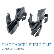 2x Fiat Halterung Clip Hutablage LINKS RECHTS für Fiat Grande Punto (ab 2006)