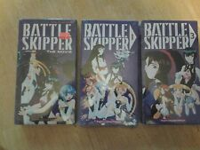 Battle Skipper VHS Tapes Lot of 3 Anime English Language Dialogue  NEW SEALED