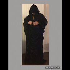 Halloween Black Robe with Hood