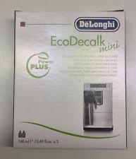 De Longhi  Entkalker NOKALK  Eco Decalk  8 x 100 ml. 4 Pakete (34,93 € / Liter)