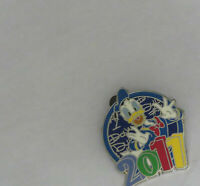 Disney Donald 2011 Logo Pin