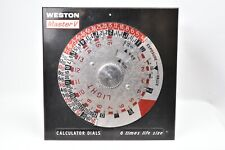 Plate Advertising for Cell Photo Weston Master v.Calculator Dial
