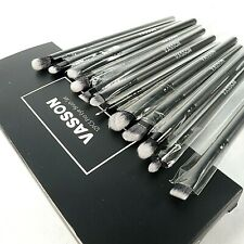 Vasson 12 Pc Eye Makeup Brush Set