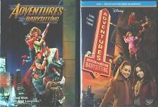 ADVENTURES IN BABYSITTING 1-2: Disney- Elisabeth Shue Orignal+ Sequel- NEW 2 DVD
