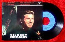 EP Gilbert Becaud Et Maintenant + 3