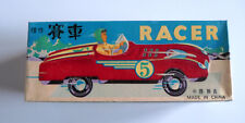 racer voiture a friction made in china en boite tin toy boxed