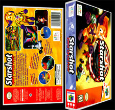 Starshot Space Circus Fever  - N64 Reproduction Art Case/Box No Game.