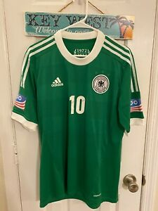 2013 USA 100 YEARS Germany Match worn Podolski Player issue Authentic Jersey