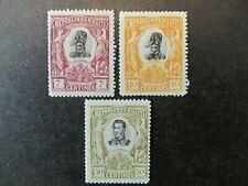 HAITI, SC# 85, 86 & 88, DESSALINES & PETION (1904) MHG