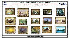 040, Diorama Zubehör Serie Bilder und Gemälde, 1:35, GMKT World of War II