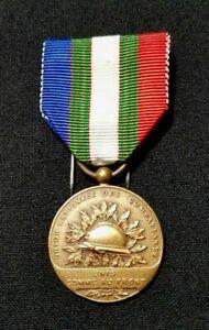 WW1 Original French Medal for the Veteran 1914-1918 Combatants bronze