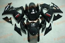Fairing Fits For Suzuki GSXR600/750 06-07 2006 2007 gloss black ABS Aftermarket
