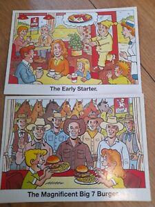 Job Lot Of Vintage Little Chef Postcards