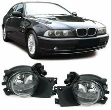 FOGS FOG LIGHTS LAMPS SET WITH BULBS PAIR BMW 5 SERIES E39 FOR STANDARD BUMPER