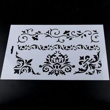 Plastic Flower Layering Stencils Scrapbooking Embossing Paper Cards DIY Crafts