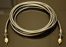 Van Damme Black Ultra Subwoofer Cable 3 Metre Length