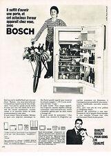 PUBLICITE ADVERTISING 044  1966  BOSCH   réfrigérateur