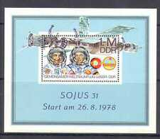Germany (DDR) 1978 Intercosmos/Space Station/Astronauts/People 1v m/s (n24043)