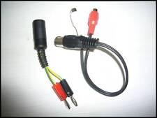 Adapter Tonabnehmereing. Röhrenradio Banane Din Cinch