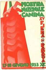 CARTOLINA d'Epoca: PUBBLICITARIA: MOSTRA CANINA PADOVA