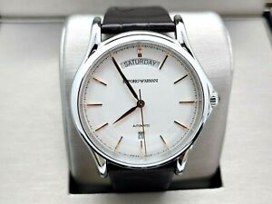 Emporio Armani Swiss Automatic Watch Alligator Leather Band ARS3502