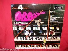 CHRIS WAXMAN Organized LP 1969 ITALY MINT- Hammond Organ