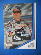 Jimmie Johnson signed 2004 PP #48 NATIONAL TRADING CARD DAY Nascar Card PP3 WCOA