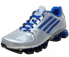 Men's adidas Running Shoes nitro fb Silver Blue Size 9 $130