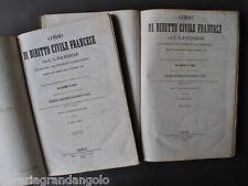 Legge Zachariae Corso Diritto Civile Francese Francia Aubry Rau Napoli 1851