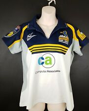 ACT Brumbies Ladies jersey 2005 10-year rugby Super 12 Size 12 ISC