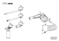 Véritable BOSCH Aquatak aller plus Nettoyeur haute pression lance Tube d'extension F02932-1291#