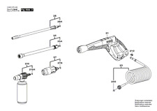 Genuine Bosch Aquatak Go Plus Pressure Washer Lance Extension Tube F02932-1291#V