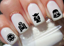 Star Wars Nail Art Stickers Transfers Decals Set of 78