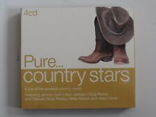 Various Artists - Pure Country Stars (4CD)