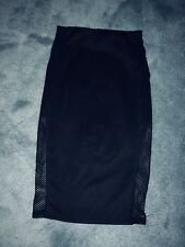 River Island bodycon skirt black size 6