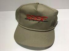 Gssf Glock Sport Shooting Foundation Vintage Khaki Rope Trucker Hat! Rare!