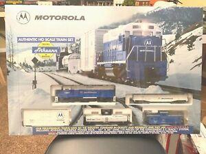 1995 Athearn HO Train Set - Motorola Commemorative – limited run