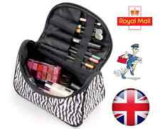 New Cosmetic Makeup Bag Case Organiser Portable Travel Toiletry Zebra Bag
