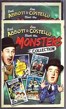 Abbott & Costello Meet The Monsters Collection DVD 4-Movie Set BRAND NEW