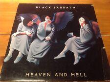 Black Sabbath - Heaven And Hell - Vertigo UK Vinyl LP