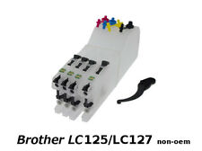 Brother LC125 XL/LC127 x4 Cartouches Rechargeables non-oem★★★