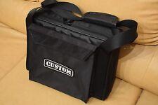 Custom padded travel bag soft case for ALESIS SR-18 drum machine