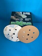"UPOL VELCRO DA SANDING DISCS 150mm 6"" DISC 1000/1200/1500/2000GT 6 HOLE BOX 50"